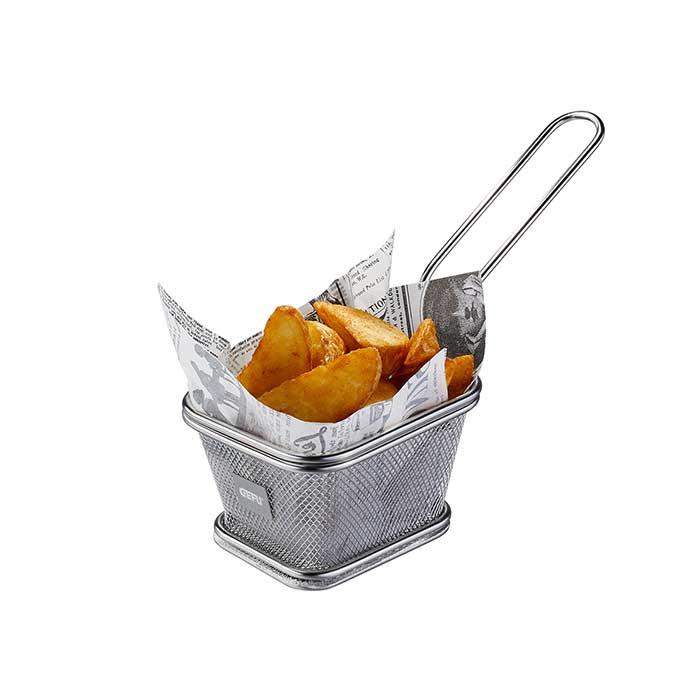 Mini-Servierkorb BBQ klein