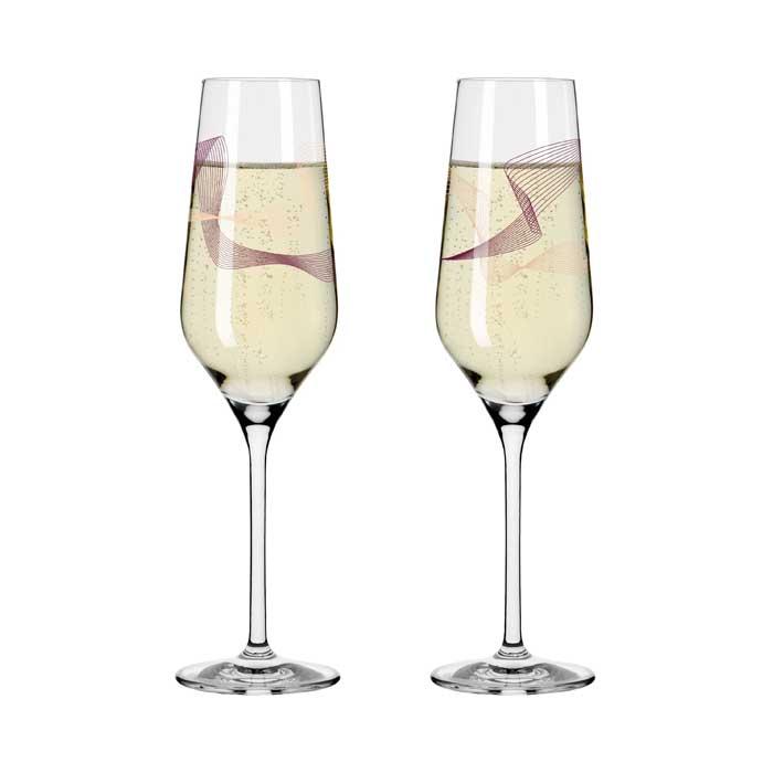 Champus Glas / Kristallwind #1 2er Set  Bohnenberg 2021
