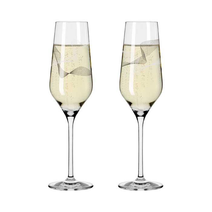 Champus Glas / Kristallwind #2 2er Set  Bohnenberg 2021