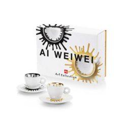 Espressotassen von Ai Weiwei 2 tlg