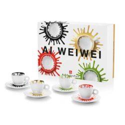Espressotassen von Ai Weiwei 4 tlg