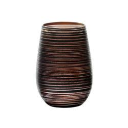 Becher Twister schwarz-bronze